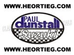Paul Dunstall Suzuki Tank and Fairing Transfer Decal DDUN6-2